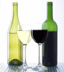 wino czerwone białe